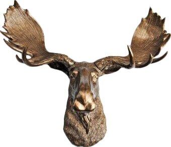 Head Faux Taxidermy Moose Wall Décor