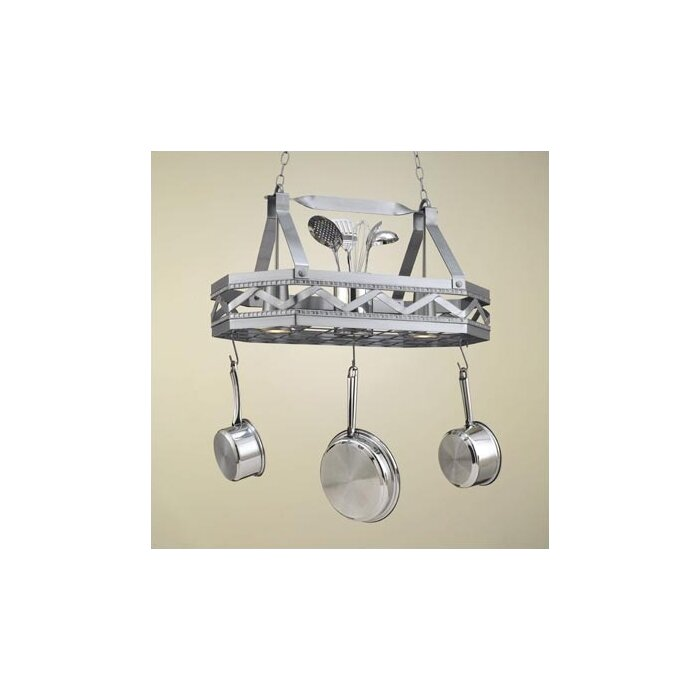 rack steel walmart ip com stainless square hanging pot