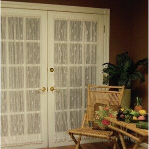 Deija Door Rod Pocket Single Curtain Panel & Front Door Curtains | Wayfair Pezcame.Com