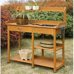 Potting Benches Tables Youll Love Wayfair