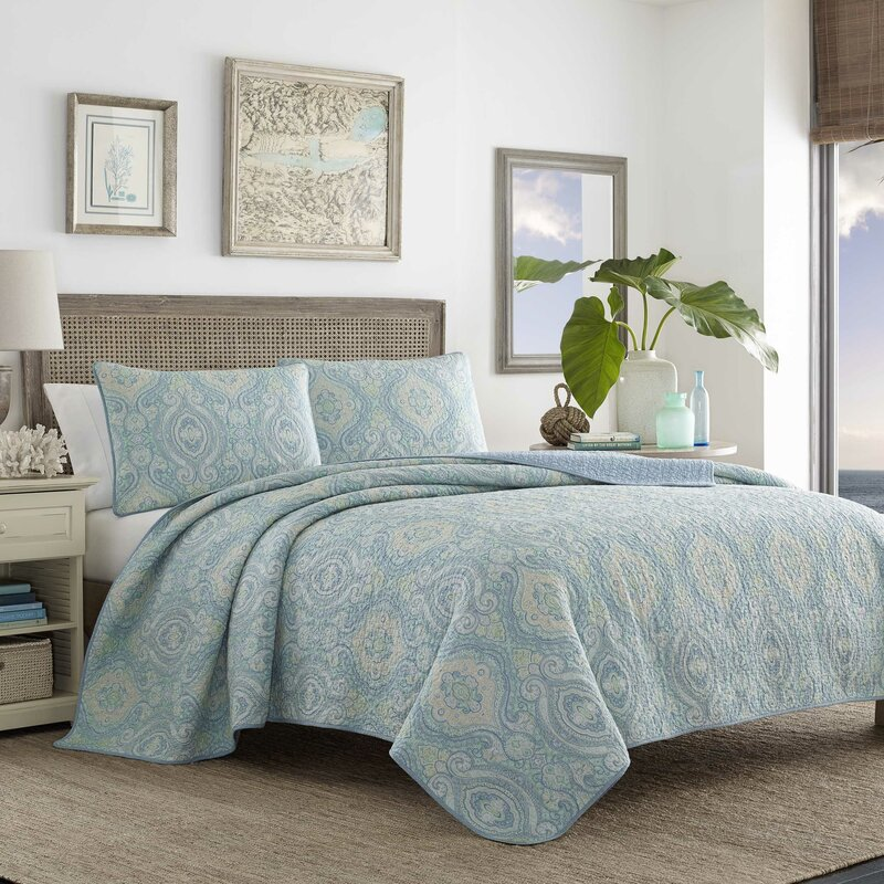 Tommy Bahama Bedding Turtle Cove Reversible Quilt Set by Tommy ...