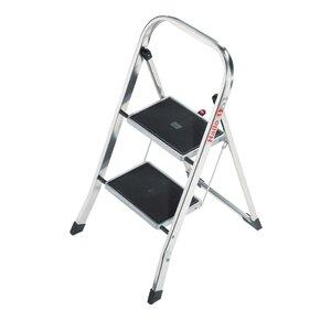 K30 2-Step Aluminium Step Stool with 159kg Load Capacity