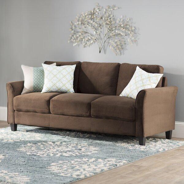 Charlton Home Patricia Curved Arm Sofa U0026 Reviews   Wayfair
