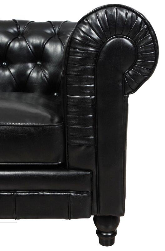 TOV Zahara Chesterfield Sofa& Reviews Wayfair