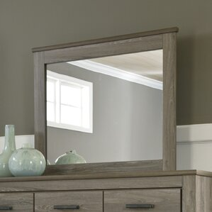 Orange 7 Drawer Double Dresser with Mirror by Trent Austin Design