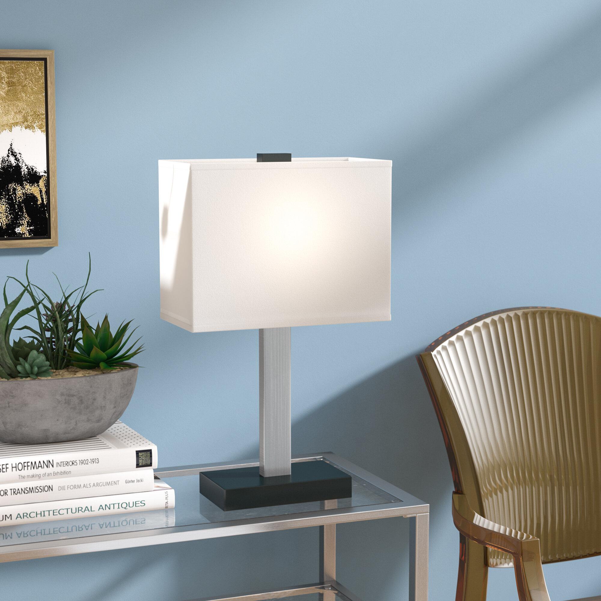 zipcode design vega 20 table lamp reviews wayfair