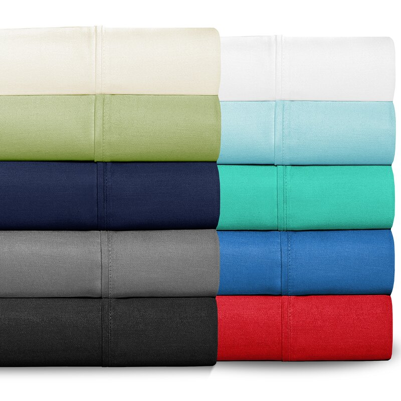 Bare Home 300 Thread Count Egyptian Quality Cotton Twin XL Sheet