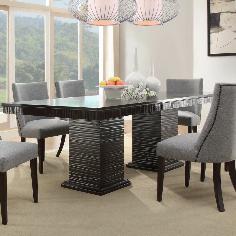 Kitchen Table For 6: Willa Arlo Interiors Cadogan Extendable Dining Table