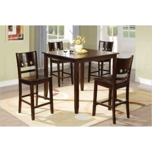Macen 5 Piece Counter Height Dining Set b..