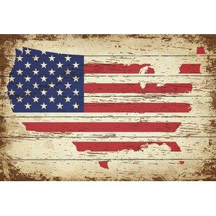 Lovely American Flag Wall Décor