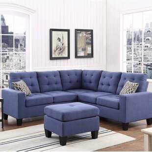 leather royal sectional magazine sofa blue great