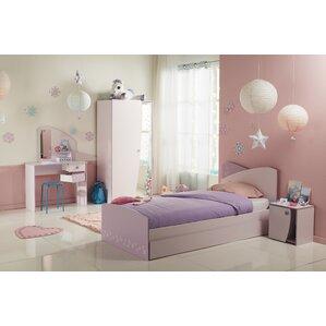 pink bedroom sets. Denault Twin Platform Configurable Bedroom Set Pink Kids  Sets You ll Love Wayfair
