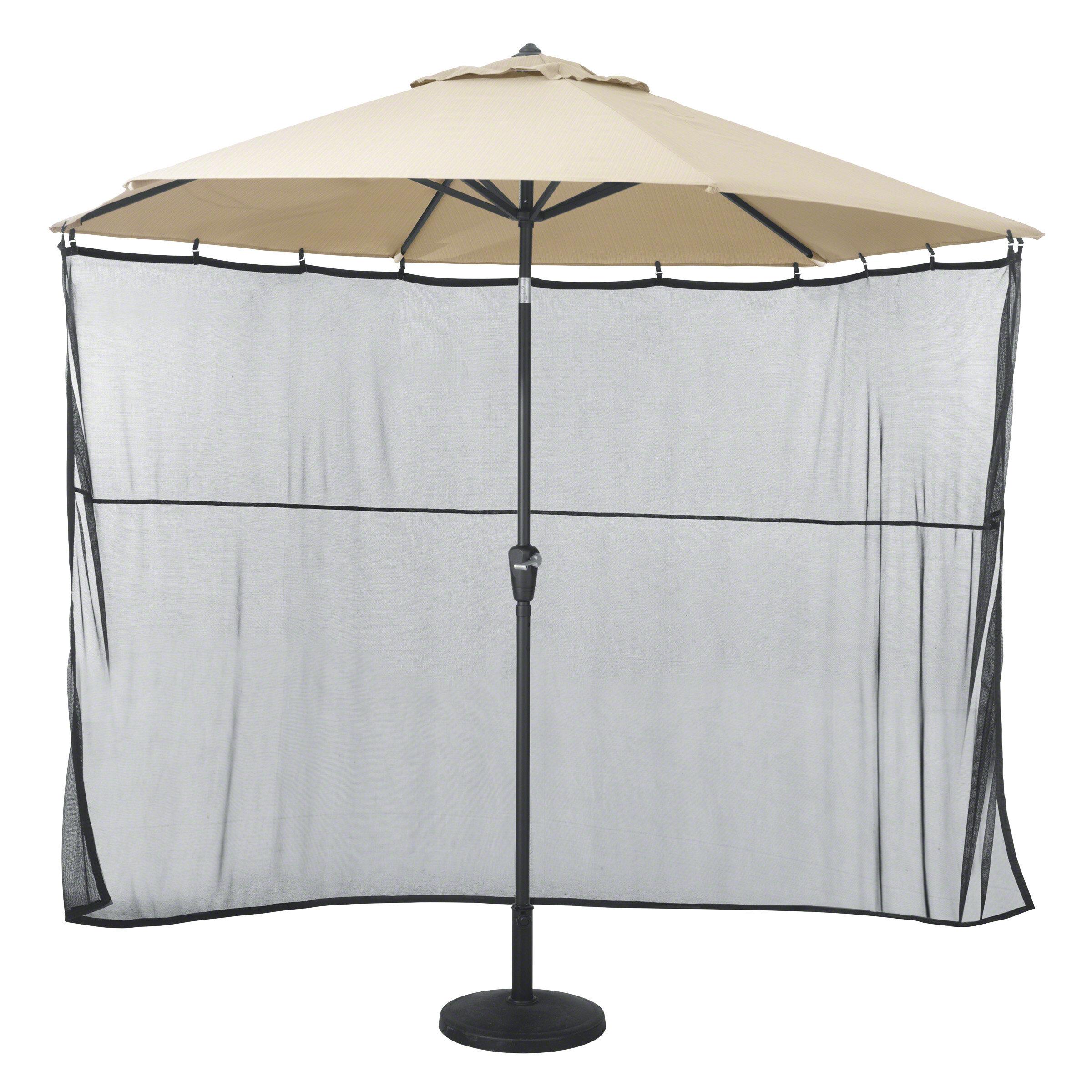 Clic Accessories Patio Umbrella Side Wall Sun Shade Netting Reviews Wayfair