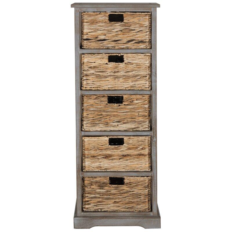 20 Eye Catching Under Stairs Wine Storage Ideas: Beachcrest Home Vedette 5 Basket Accent Chest & Reviews