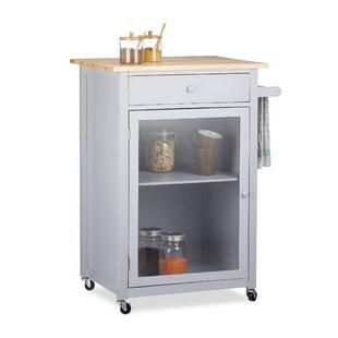Kushner Solid Wood Kitchen Trolley by Metro Lane