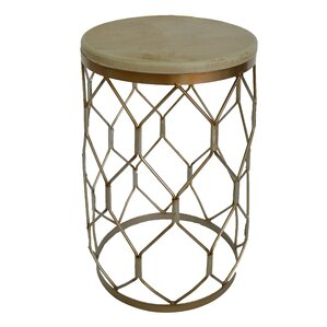 Aurora Barrel End Table by..