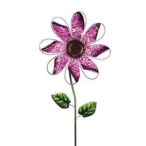 Kinetic Metal Flower Spinner