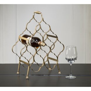 Krahn Brushed 8 Bottle Tabletop Wine Rack