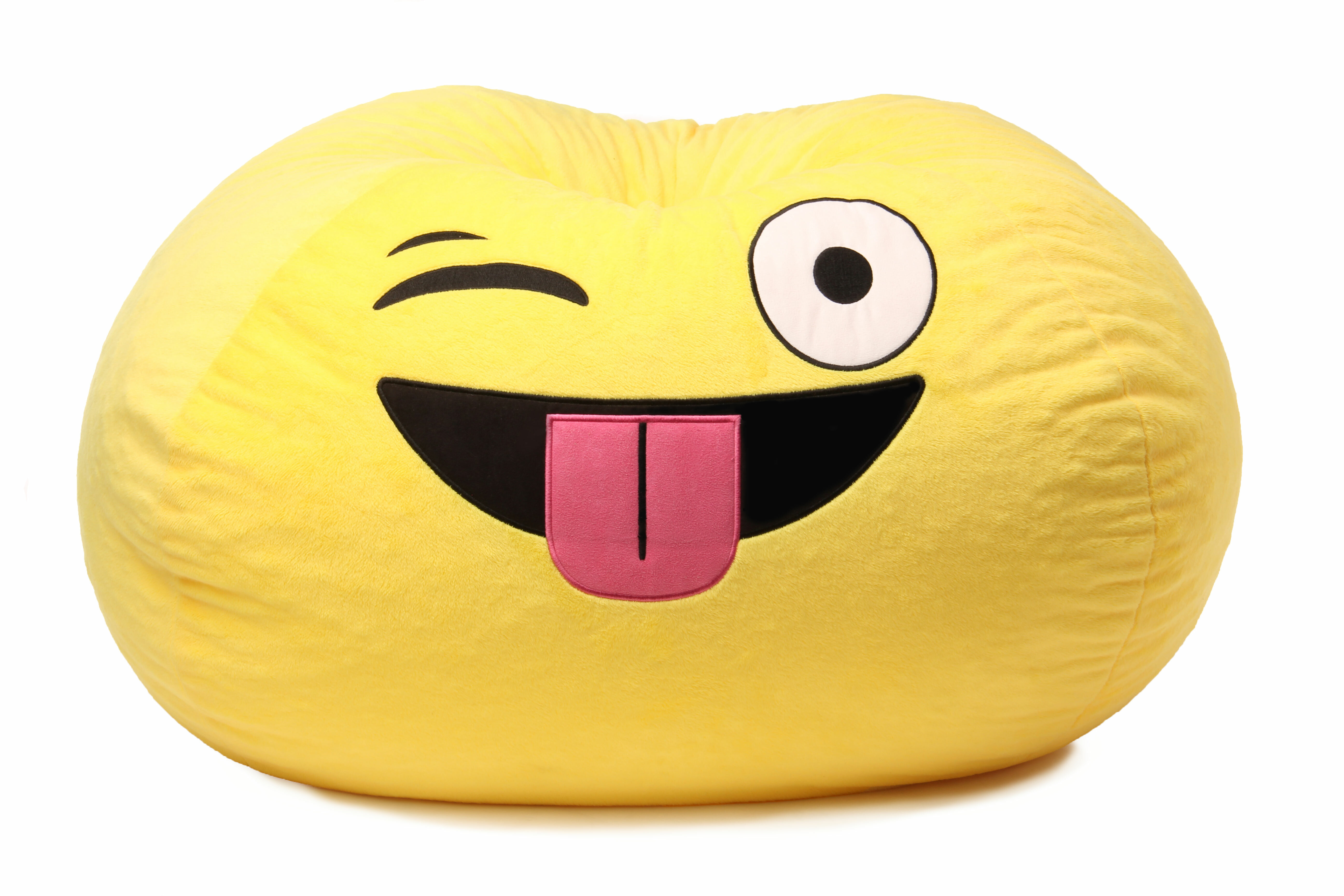 Happy Larry Austin Gomoji Silly Bean Bag Chair | Wayfair.co.uk