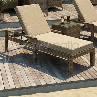 Cypress Chaise Lounge with Cushion