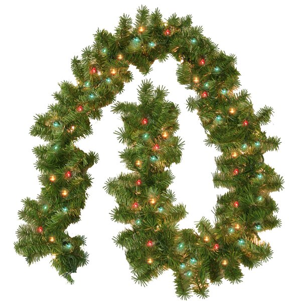 christmas garlands youll love wayfair - Christmas Greenery Wholesale