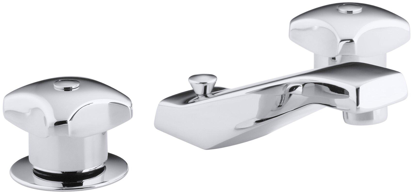 K-7437-2A-CP Kohler Triton Widespread Commercial Bathroom