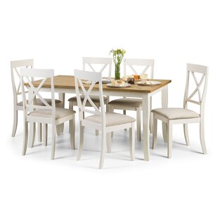 dining room table set. Zara Dining Set With 6 Chairs Table Sets  Kitchen Wayfair Co Uk