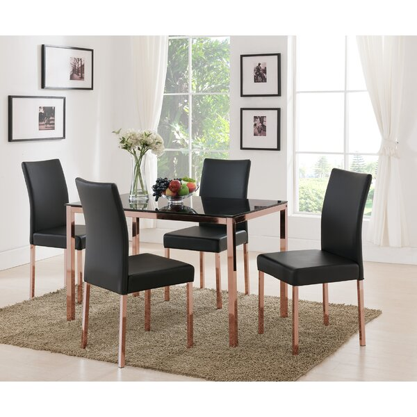 Metal Frame Dining Table | Wayfair