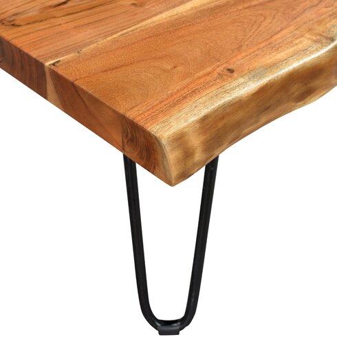 Kourtney Sustainable Live Edge Acacia Coffee Table