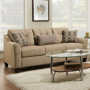Simmons Upholstery Stirling Husk Sofa by Red Barrel Studio