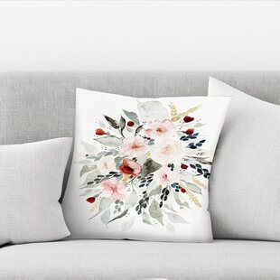 Shealeen Louise Loose Bouquet Throw Pillow
