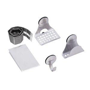 SinkMateu00ae Kit with Hook, Sponge Holder and Ledge Set