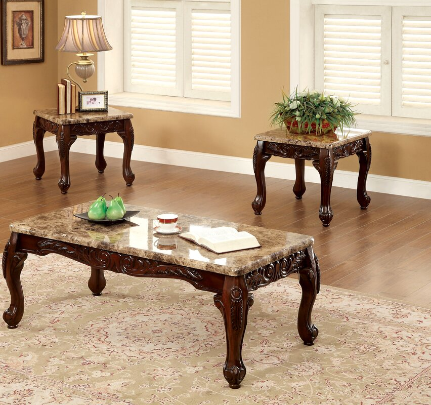 Astoria Grand Albertus 3 Piece Coffee Table Set Reviews Wayfair