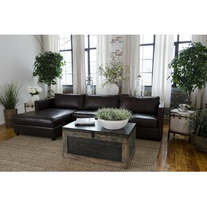 Urban Leather Sectional