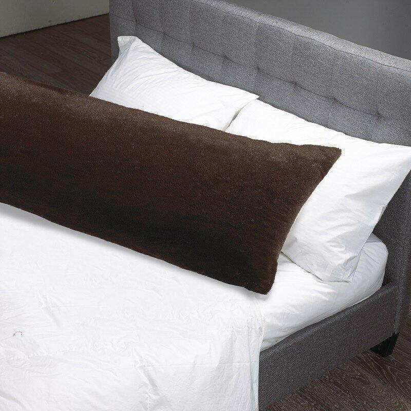 Westex Faux Fur Body Pillow Case Reviews Wayfair Extraordinary Faux Fur Body Pillow Cover