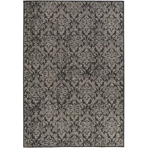 Eagon Black Indoor/Outdoor Area Rug