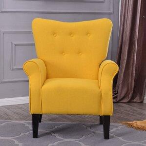 Naumann Leg Club Chair by Charlton Home