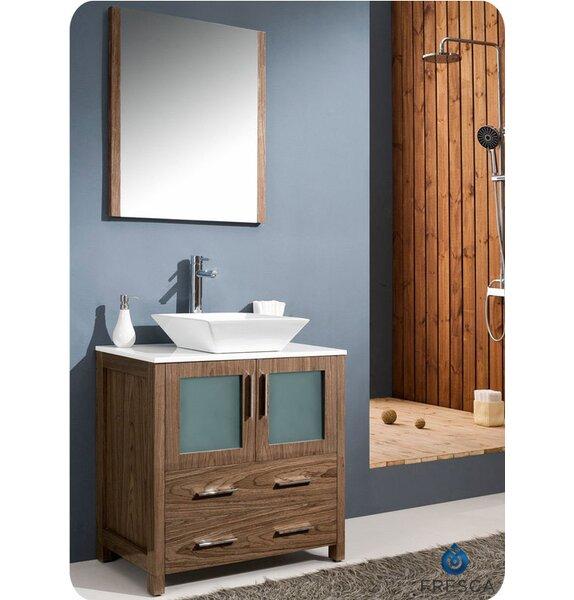 Fresca Torino 30 Single Modern Bathroom Vanity Set With Mirror Reviews