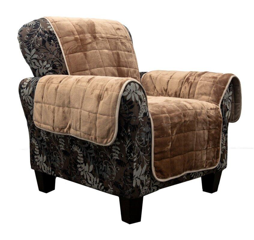 Red Barrel Studio Waterproof Box Cushion Armchair