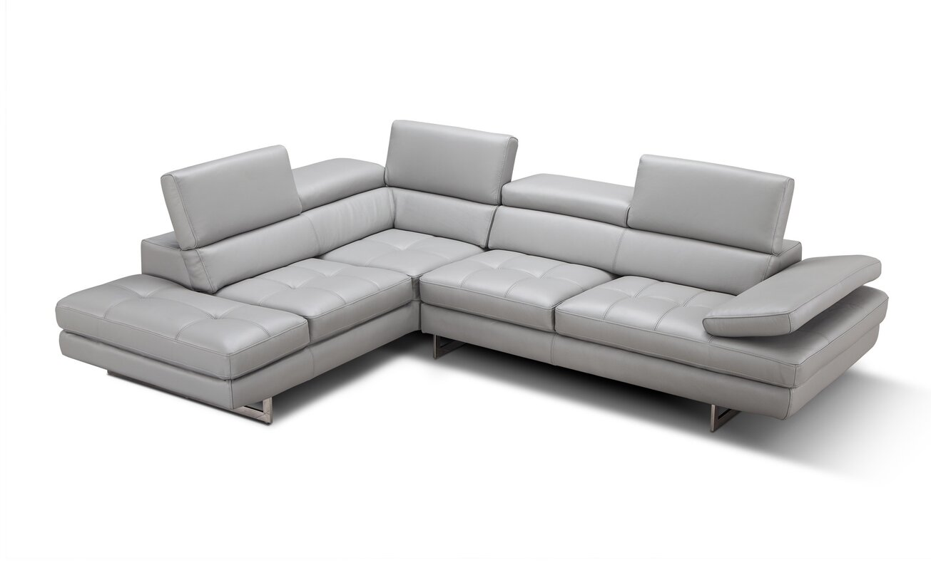 sc 1 st  AllModern : leather sectionals with chaise - Sectionals, Sofas & Couches