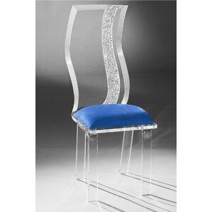 Wave Acrylic Side Chair by Muniz