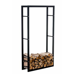 Keri 2.5 Ft. x 1 Ft. Metal Log Store by Urban Designs