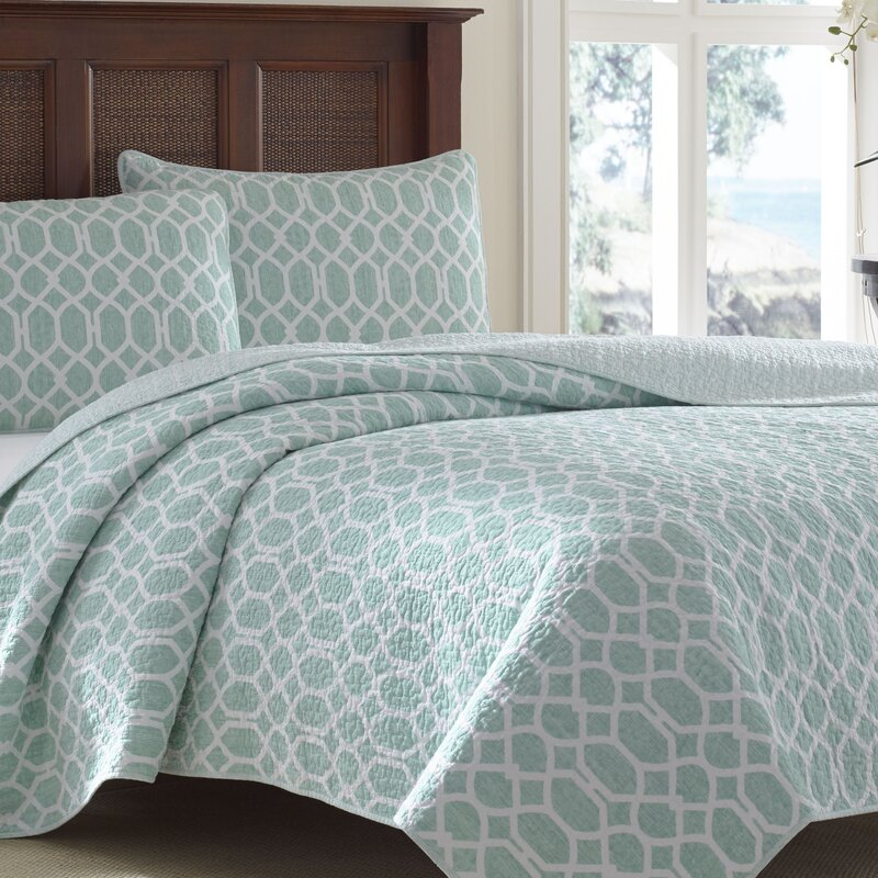 Tommy Bahama Home Catalina Trellis Quilt Set by Tommy Bahama Bedding