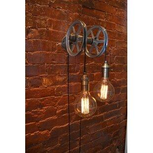 Farmhouse Pulley Light   Wayfair