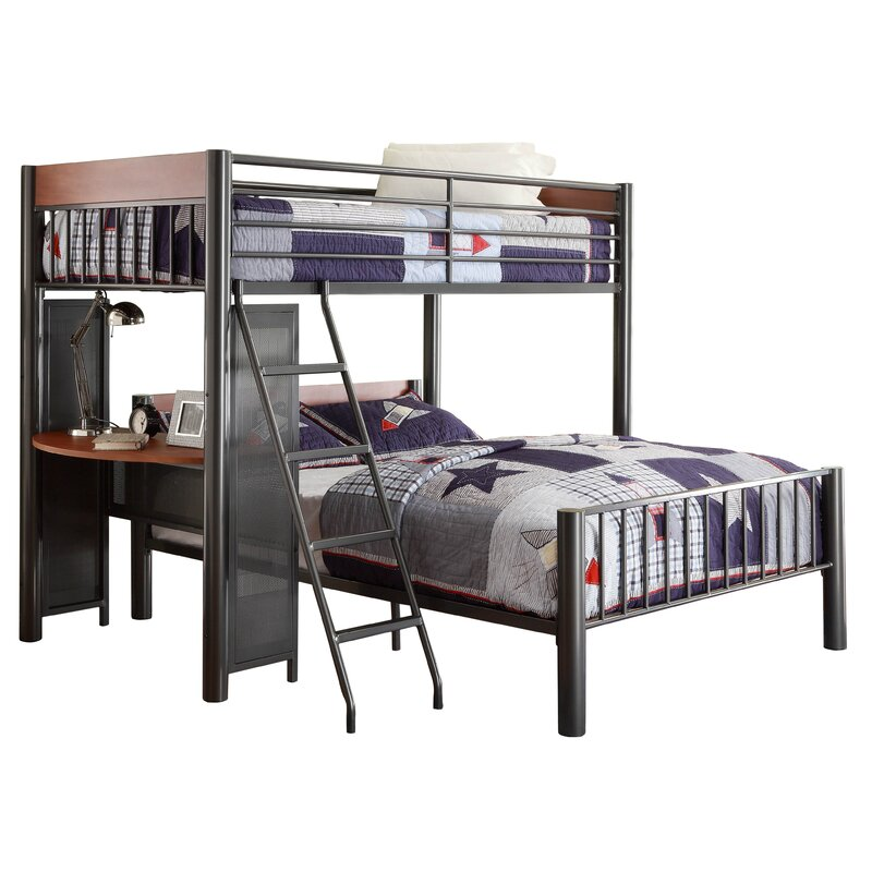 Twyla Twin Over Full L Shaped Bunk Bed