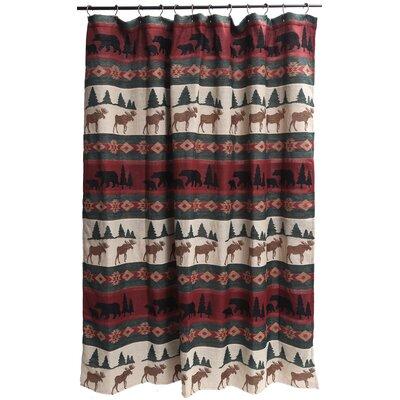 Loon Peak Kaela Shower Curtain