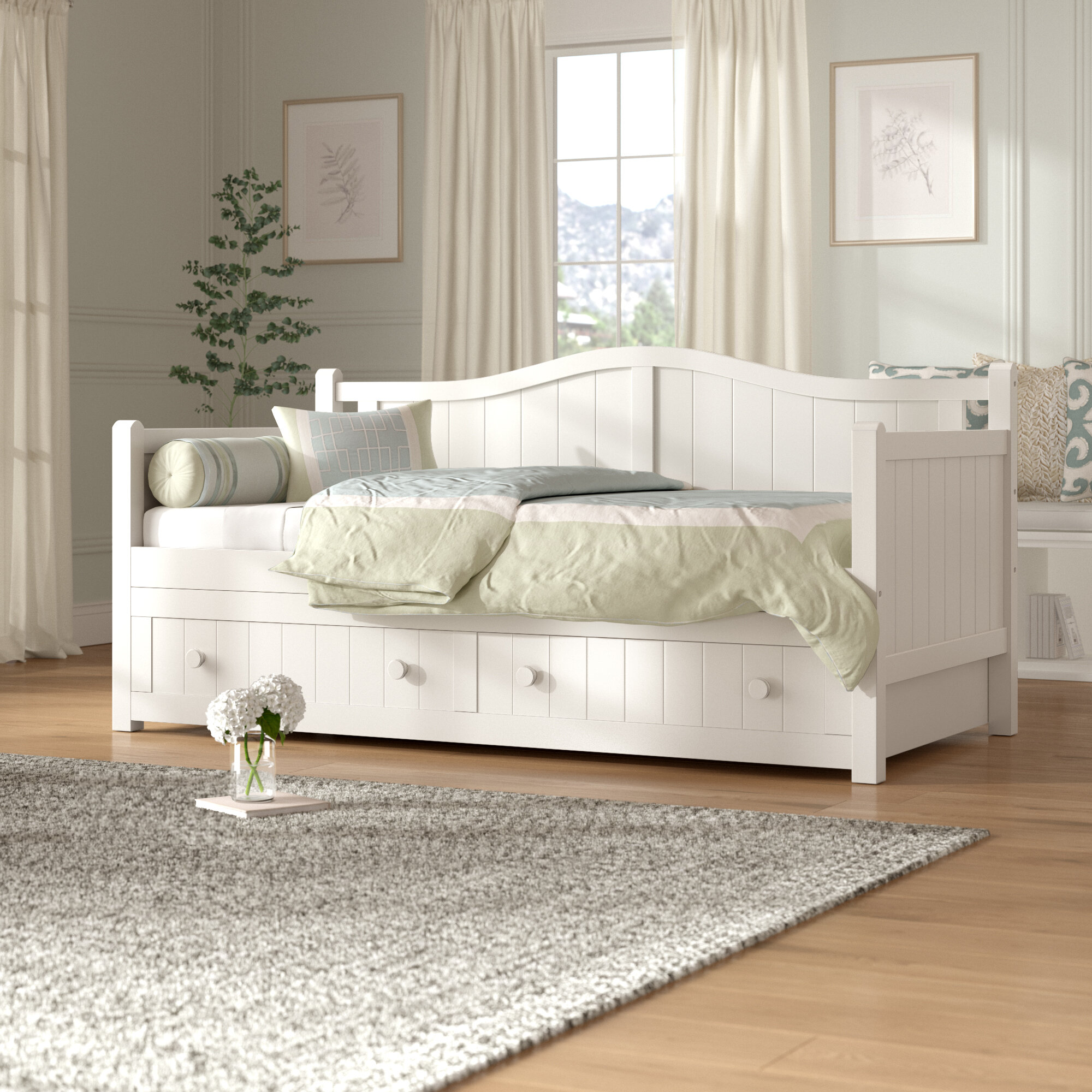 Day Bed.Rafferty Twin Daybed With Trundle