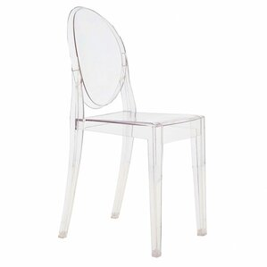Ghost Victoria Stacking Patio Dining Chair (Set of 4) by Kartell