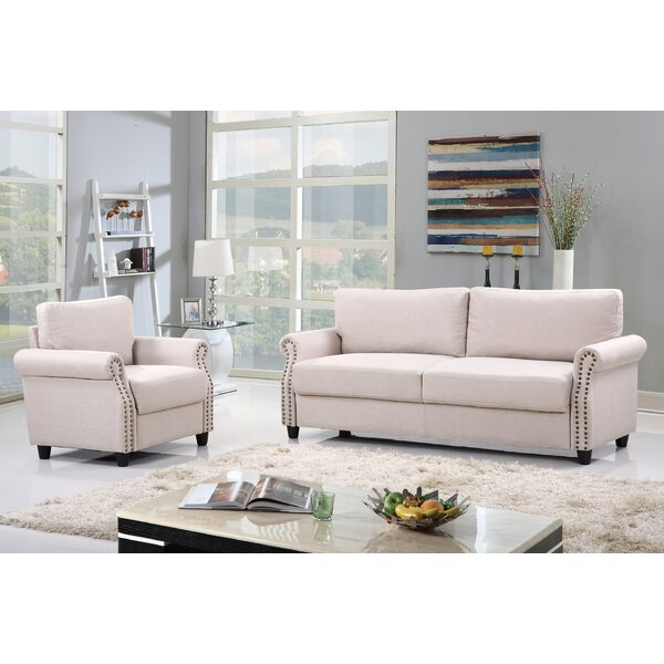 Madison Home USA 2 Piece Living Room Set with Storage & Reviews ...
