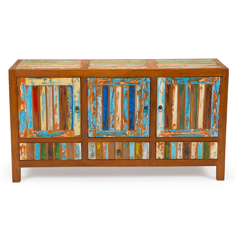 Forget Me Knot Reclaimed Wood Cabinet - EcoChic Lifestyles Forget Me Knot Reclaimed Wood Cabinet Wayfair